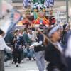平成26年長崎くんち庭先回りのスケジュール発表。