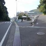 岩屋山 小江原の警察学校裏から油木までのルートを歩いてみた。