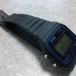 CASIO F-91W-1 チープカシオの腕時計を買ってみた!